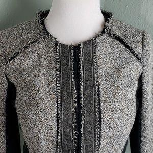 White House Black Market Tweed Boucle Jacket